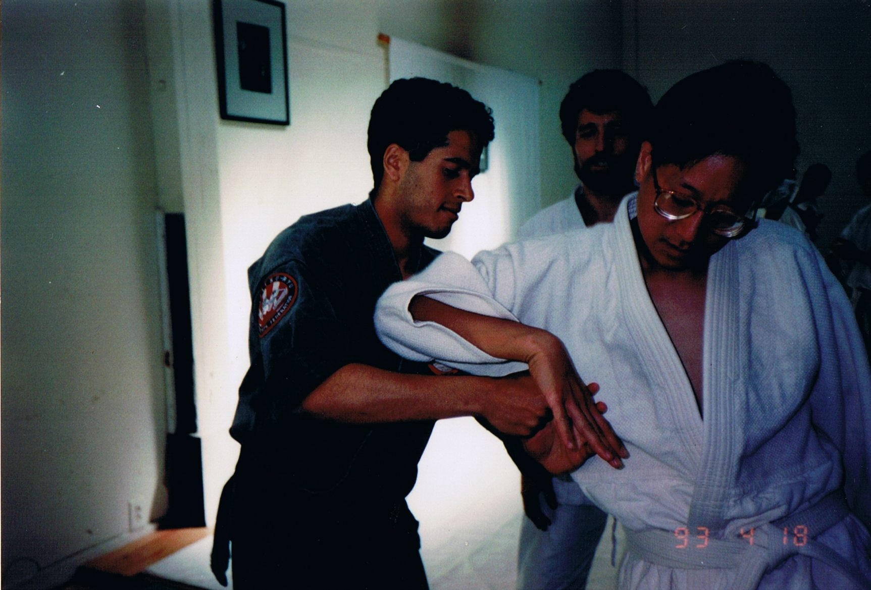 Professor Alessandro Ashanti Teaching in 1993