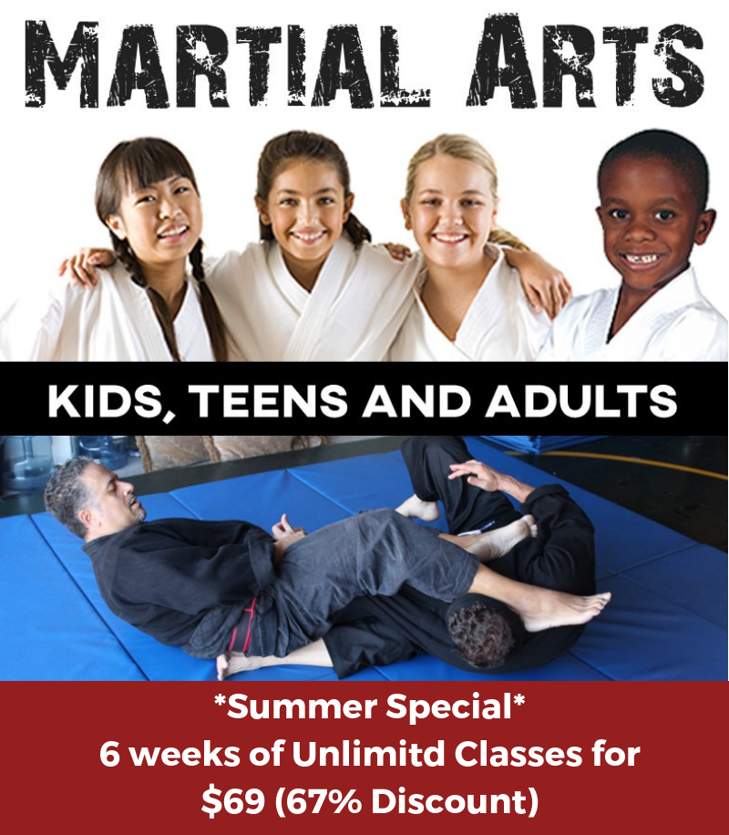 Summer Special 6 weeks for $69 67% Discount